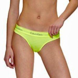 Calvin Klein Brazilian Neon Green Panty